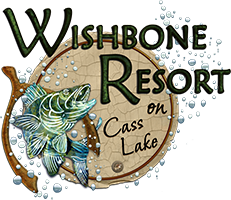 wishbone resort on cass lake, mn logo